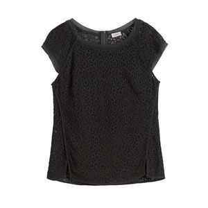 Pixley/Stitch Fix crocheted/lace top